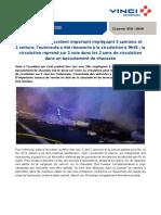 Réouverture de l'A 10 dans le sens Paris-Orléans dans la matinée du 21 janvier