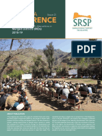 A Kaleidoscope of SRSP's Interventions in Merged Districts (MDs) 2018-19