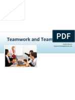 Teamwork and Team Building