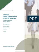 Infosys NextGen Payroll Abstract 2019-01-21