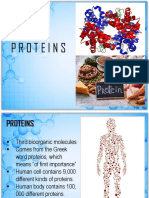 PROTEINS Introduction