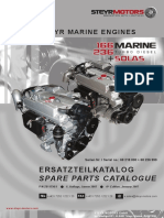 Steyr Motor MO236 K43 Spare Parts Catalogue