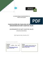 Plan Local de I y a-Ayto Sant Cugat