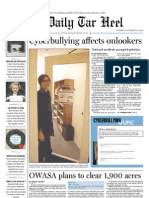 The Daily Tar Heel for November 30, 2010