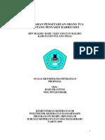 cover depan proposal tugas metlit