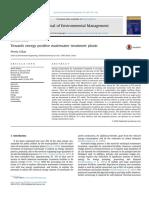 Towards energy positive wastewater treatment plants