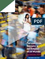 Informe OIT 2020 - Los Desempleados Podrían Aumentar en 2,5 Millones en 2020