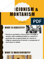 marcionism and montanism