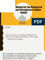 Advanced-Methods-for-the-Removal-of-Nitrogen-and-Phosphorus-in-Water-Supply (1).pptx
