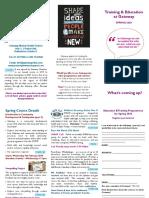 Gateway Training Leaflet 2020 Spring