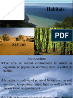 ZLY 101 Habitats