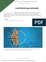 5 experimentos de Darwin que você pode fazer em casa _ Ciência e Saúde _ G1