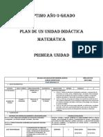 Planes semanales Matematica 7mo