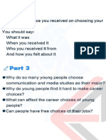 Speaking part 2-3(5)