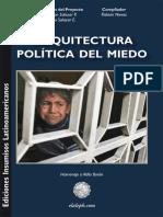 Nieves Flavian Arquitectura Politica del Miedo