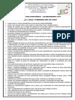 NORMAS DE BOA CONVIVÊNCIA-  PROFESSOR