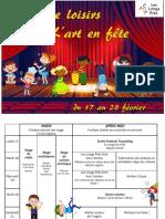 Programme Février Site
