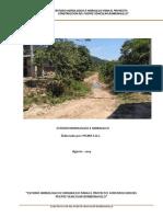 Estudio hidrológico e hidráulico para la construcción del puente bobonajillo