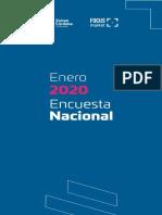 Encuesta sobre Alberto Fernández ENERO 2020