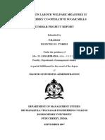 A Study on Labour Welfare Measures