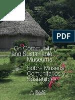 Sobre museos comunitarios y sostenibles