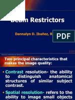 Lec 10. Beam Restrictors