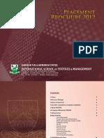 SVPISTM - Placement Brochure2012