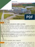 comercialización del cobalto PPT