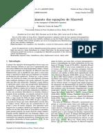 EQUACOES DE MAXWELL