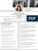 Diana Sevitz CV 2020