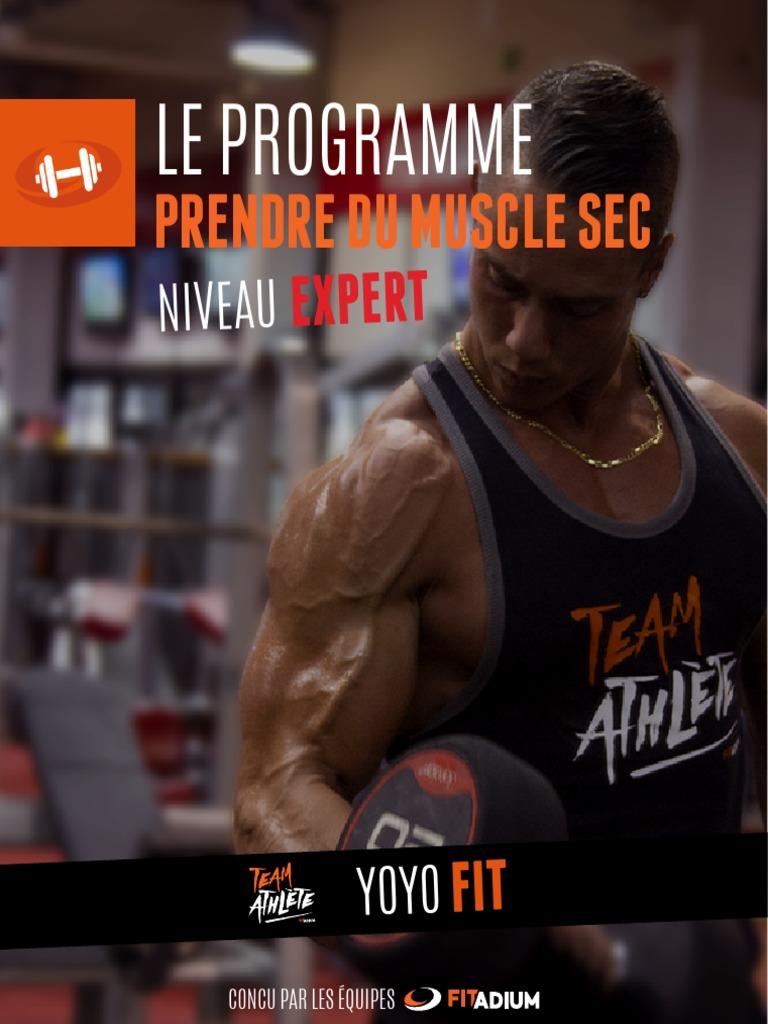 Entrainement Muscle Sec Expert Musculation Gestion De L Obésité