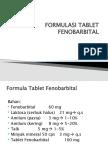 Formulasi Tablet Fenobarbital