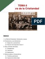 TEMA 6 - La ruptura de la Cristiandad