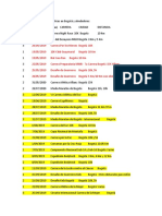 Calendario de carreras atléticas en Bogotá y alrededores