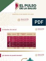 CPM Pulso de La Salud, 21ene20