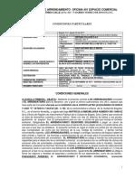 CONTRATO ARRIENDO EDIFICIO MODELIA   4o. PISO HUGO BELLO