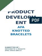 AFA Knotted Bracelet