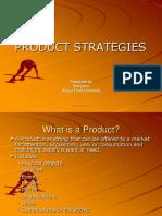 7. PRODUCT STRATEGIES
