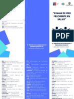 Aquagreen Medical Trifold Brochure