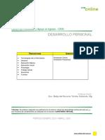 Compendio Unidad 1 Desarrollo Personal - Cpai 2019 s2