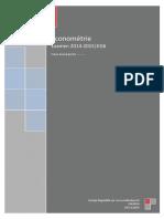CF 2014-2015 - Econométrie