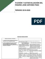 AUTOEVALUACION EBN BIC. JOSE ANTONIO PAEZ