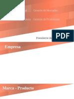 Presentacion Junta directiva empresa lacteos