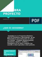 GEOGEBRA PROYECTO