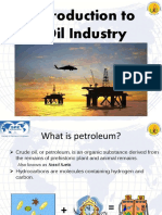 Introduction to oil industry