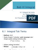 Bab VI. Integral.pps