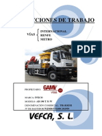 Manual de instrucciones GAM 01