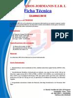FICHA TECNICA DE CALAMINAS OM 110