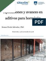 2018_1-Picolo - Aplicaciones y avances em aditivos para hormigon (1)