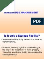 Lecture 7- WAREHOUSING MANAGEMENT.ppt